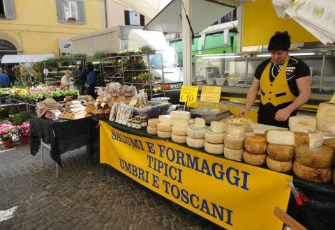 Citta di Castello market